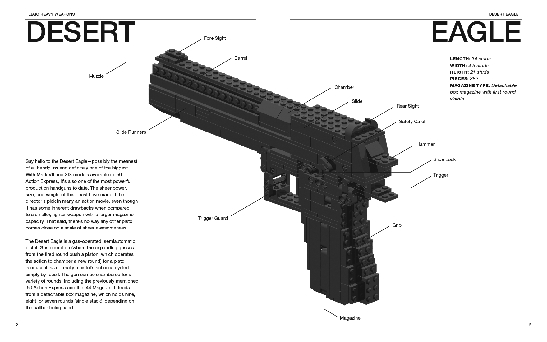 Hot New Book Shows How To Create Working Firearm Replicas From Legos