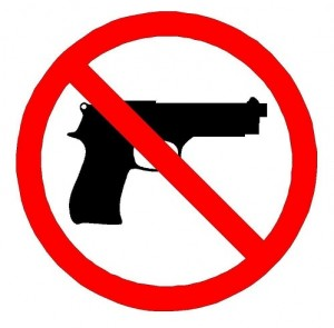 No Guns Allowed
