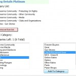 GunLink Directory Categories