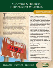 NSSF Fire Prevention Poster