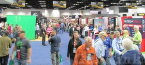 2014 NRAAM Exhibit Hall