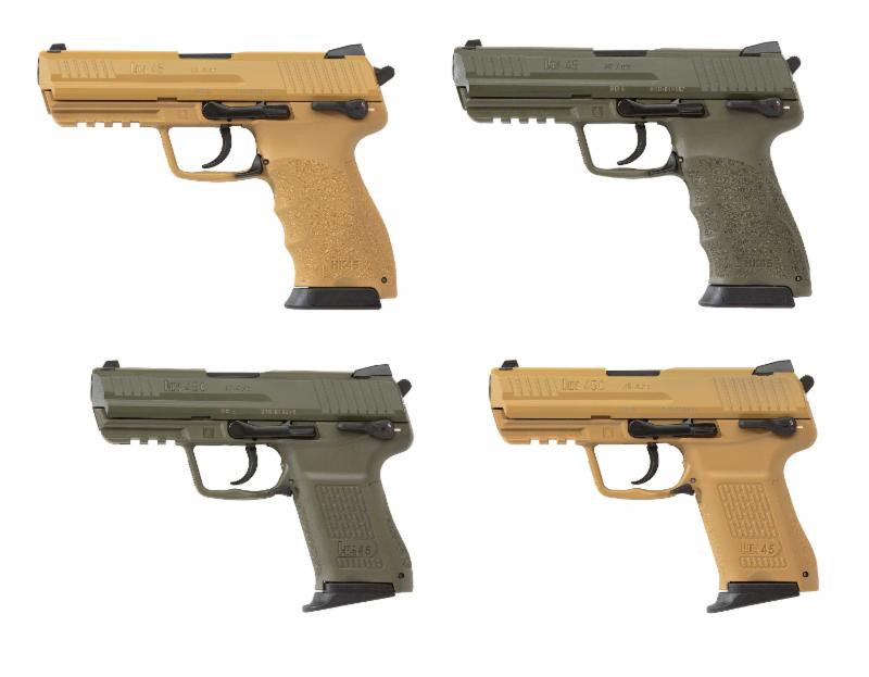 H&K to Showcase New Pistols and Rifle at SHOT Show 2015 ...