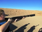 We got trigger time on the SilencerCo Salvo